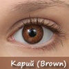 Biomedics Colors Premium. Brown. Карий