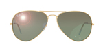 Ray-Ban RB 3026 W 3277 62-14-138 Gold-Grеy-green-Polarized