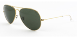 Ray-Ban Aviator Large Metal II RB3026 L2846 3N  Natural Green  (G-15XLT).